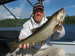 manitou lake trout