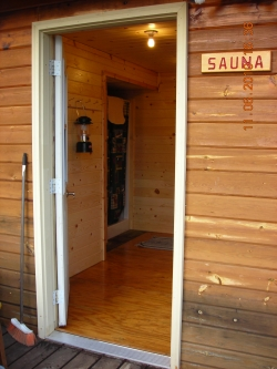 sauna/shower