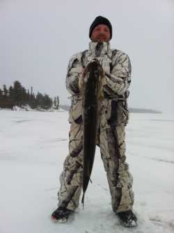 Adams 15 lb Northern Jan 2012 Barker Bay Resort