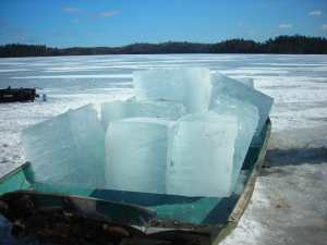 Ice Blocks for the Ice House
