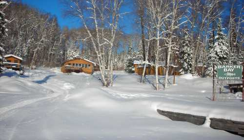 Camp in winter 2012